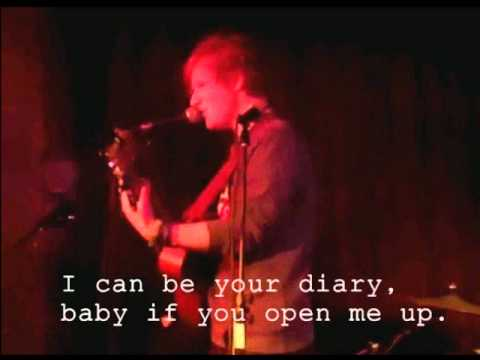 Ed Sheeran - Diary (Lyrics)