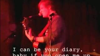Ed Sheeran - Diary (Lyrics)