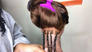 Knotless Box Braid Tutorial For Beginners|Actual Protective Style