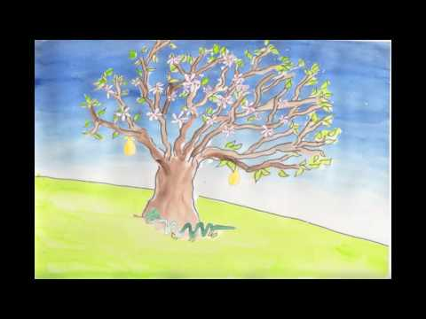 Spring an animation of the Hopkins poem