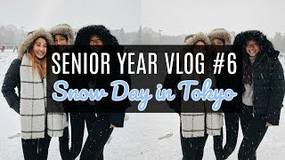 SENIOR YEAR VLOG #6: TOKYO'S FIRST SNOW OF THE YEAR