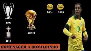 Homenagem a Ronaldinho Gaúcho que encerrou sua carreira