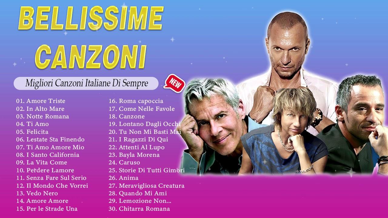 40 Migliori Canzoni Italiane Di Sempre – Musica italiana Anni 80 90 – Bellissime Canzoni
