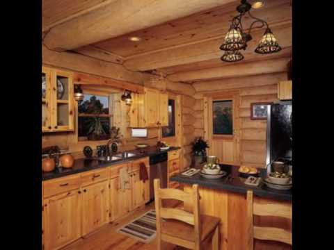 Designing Your Log Cabin Kitchens