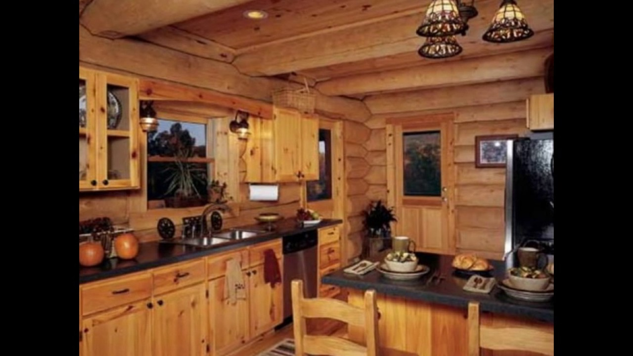 Designing Your Log Cabin Kitchens - YouTube
