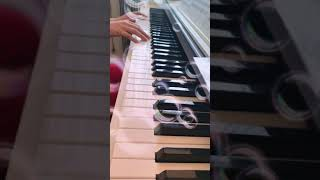 Tebessüm Şarkısı piyano