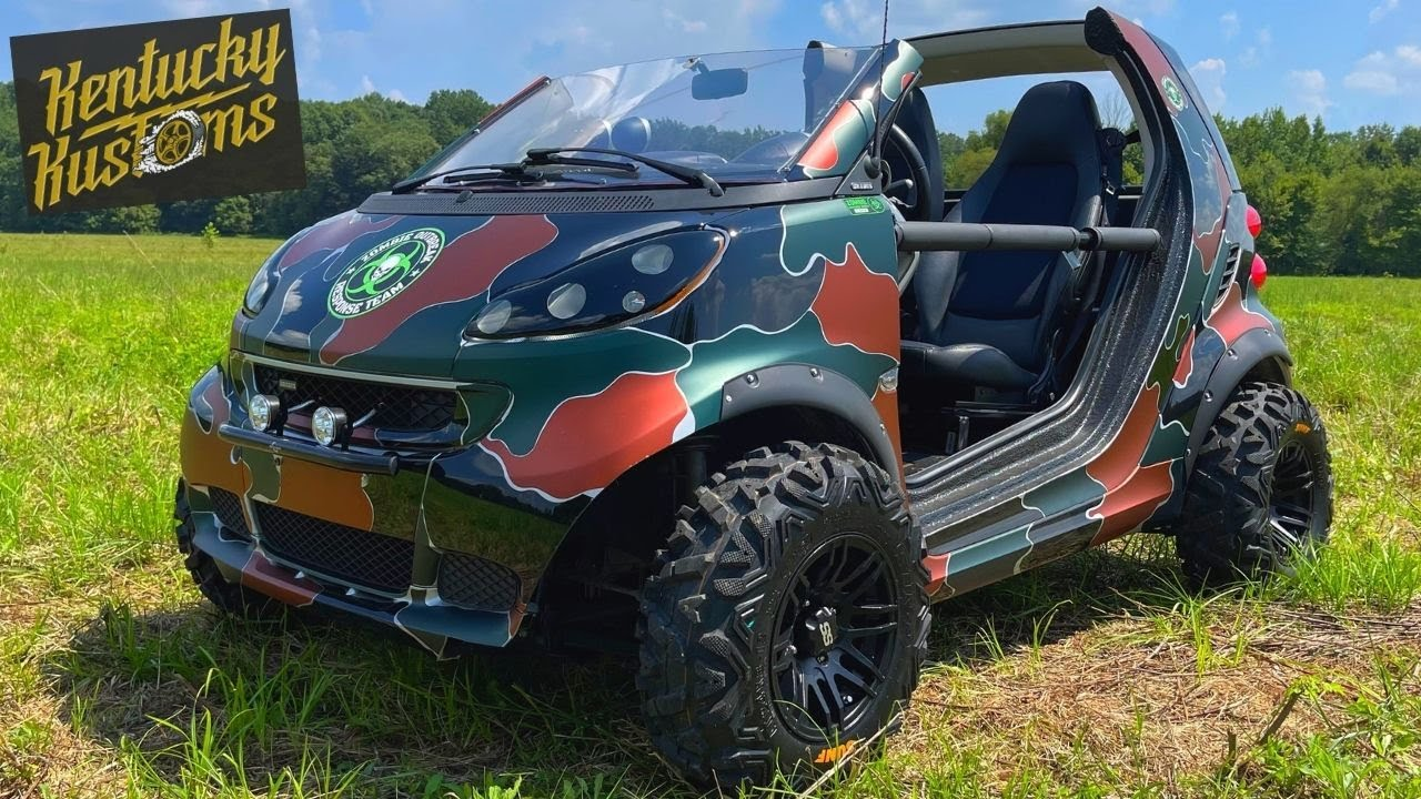 SMART CAR DUNE BUGGY 😱 (IT'S FINISHED!!!)