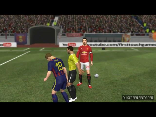 Deam Laegue Soccer 2017| Giao hữu giữa Brcelona và Manchester | MHiếu Channel