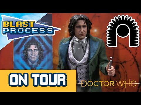 Big Chief Studios Visit - The 8th DOCTOR (Paul McGann) Production Sample UNBOXING