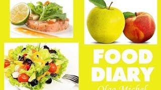 Food Diary #1: Что я ем в течение дня