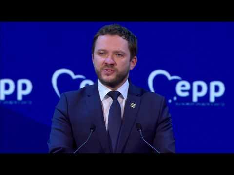 EPP Malta Congress -  Margus Tsahkna, Minister of Social Protection of Estonia