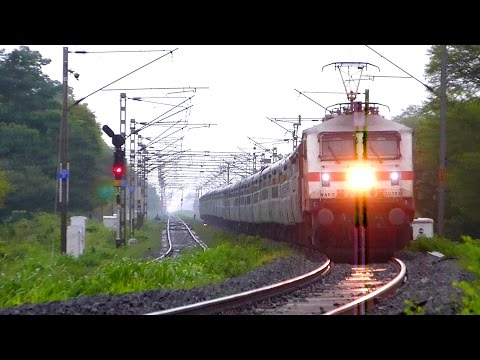 Thumbnail: 20 Railroad Videos in 10 Minutes !! INDIAN RAILWAYS TRAINS !