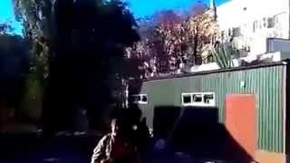 Эксклюзив Бой!  за Донецкий Аэропорт Моторолла 08 10 ДНР 2