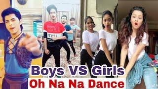 Oh Na Na Dance | Boys VS Girls | Siddharth Nigam, Avneet Kaur, Mr.mnv | Aladdin