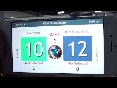 Tri State Elite 17 Blue v KIVA 17 Red 2018 Mideast Power League