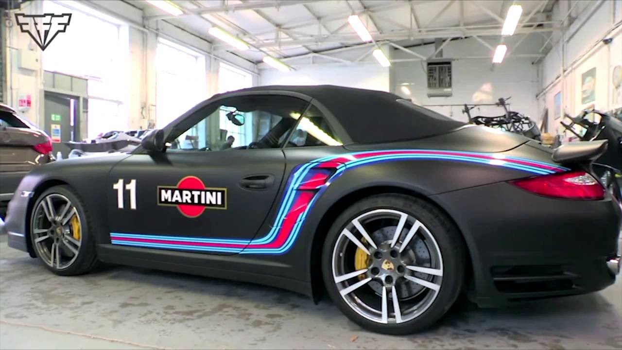 Porsche 997 Martini Wrap Youtube