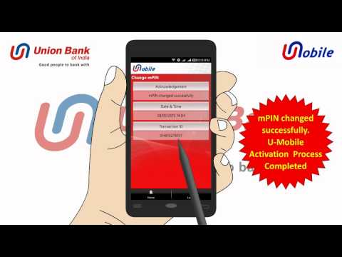 Union Bank of India's U-Mobile - Installation n Activation Video