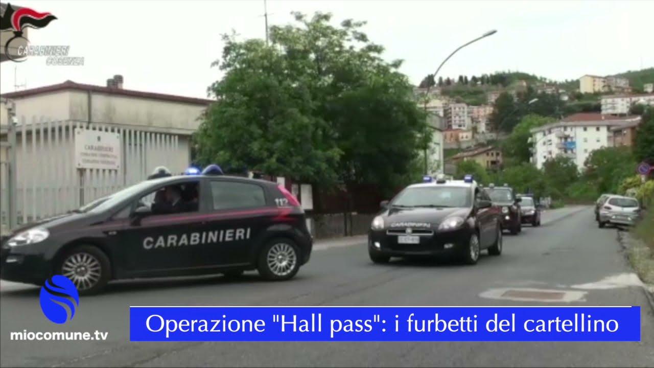 """Calabria Verde, operazione """"Hall pass"""" contro i furbetti del cartellino"""