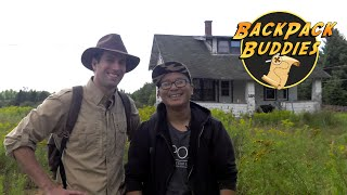 BackPack Buddies: Episode 10 | Abandoned Farm House Stinks and Old School House Caught Fire.