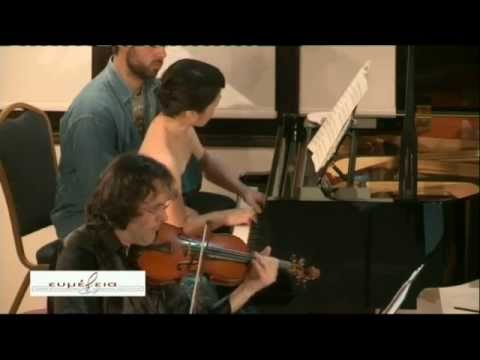 Messiaen: Praise To The Immortality of Jesus - Quartet for the End of Time-Evmelia IV Festival