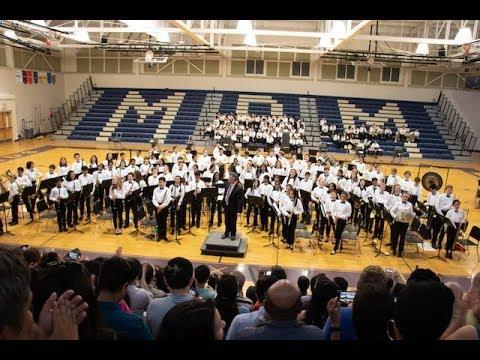 Mills Park Middle School  Bands 2019 Spring Concert