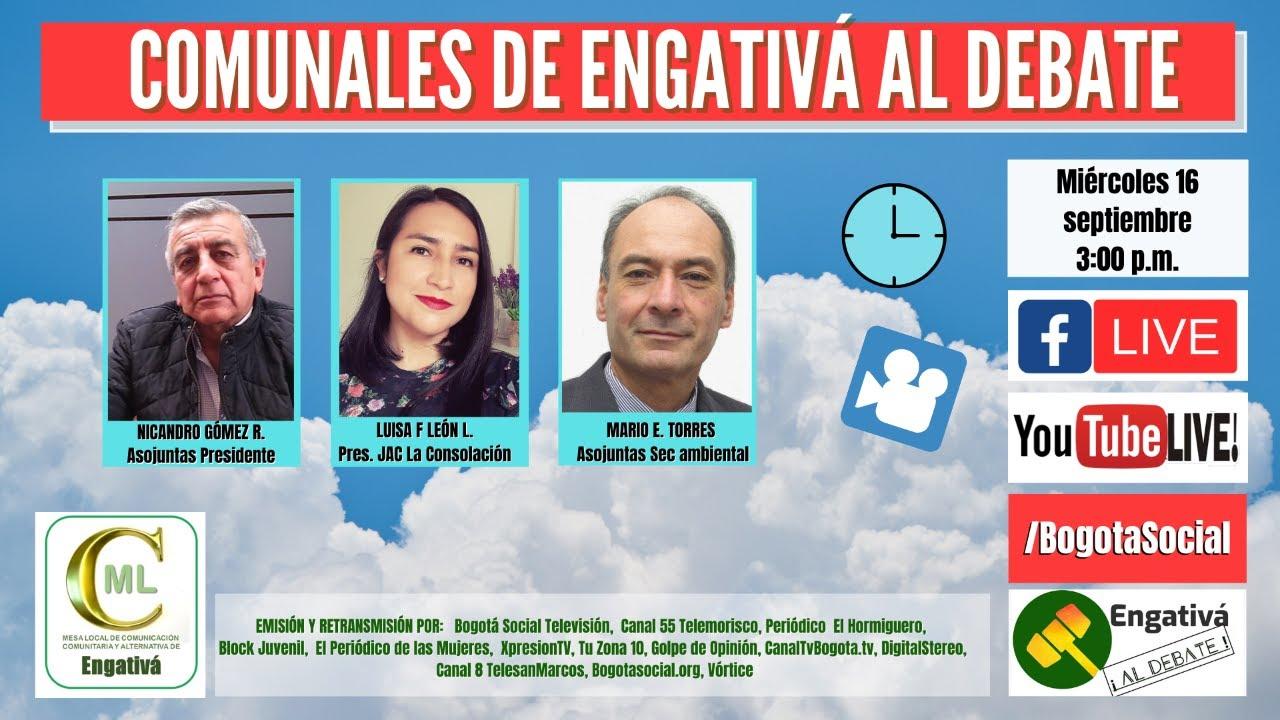 COMUNALES DE ENGATIVÁ AL DEBATE