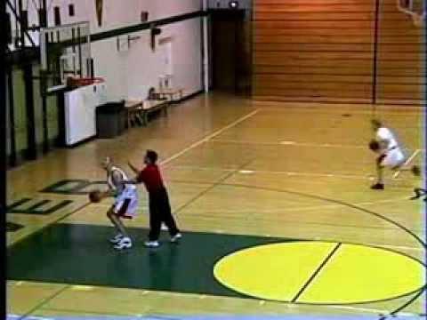 Princeton Lay Ups - Basketball Shooting Drill