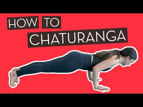 How To Chaturanga! Yoga for Pain Relief}
