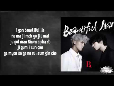 VIXX LR - Beautiful Liar Lyrics (easy lyrics)