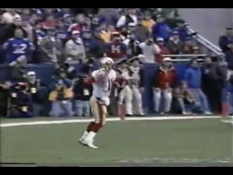 Ty Detmer TD on botched FG attempt - 49ers @ Patriots,