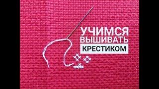 Как вышивать крестиком? Видеоурок по вышивке крестом для начинающих.