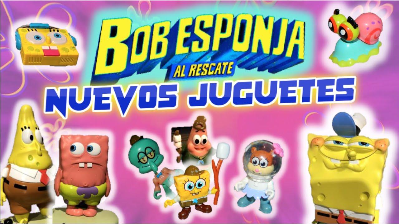 Noticias Nuevos Juguetes De Bob Esponja Al Rescate Película 2020 Alpha Toys Juguetes De Memes Youtube