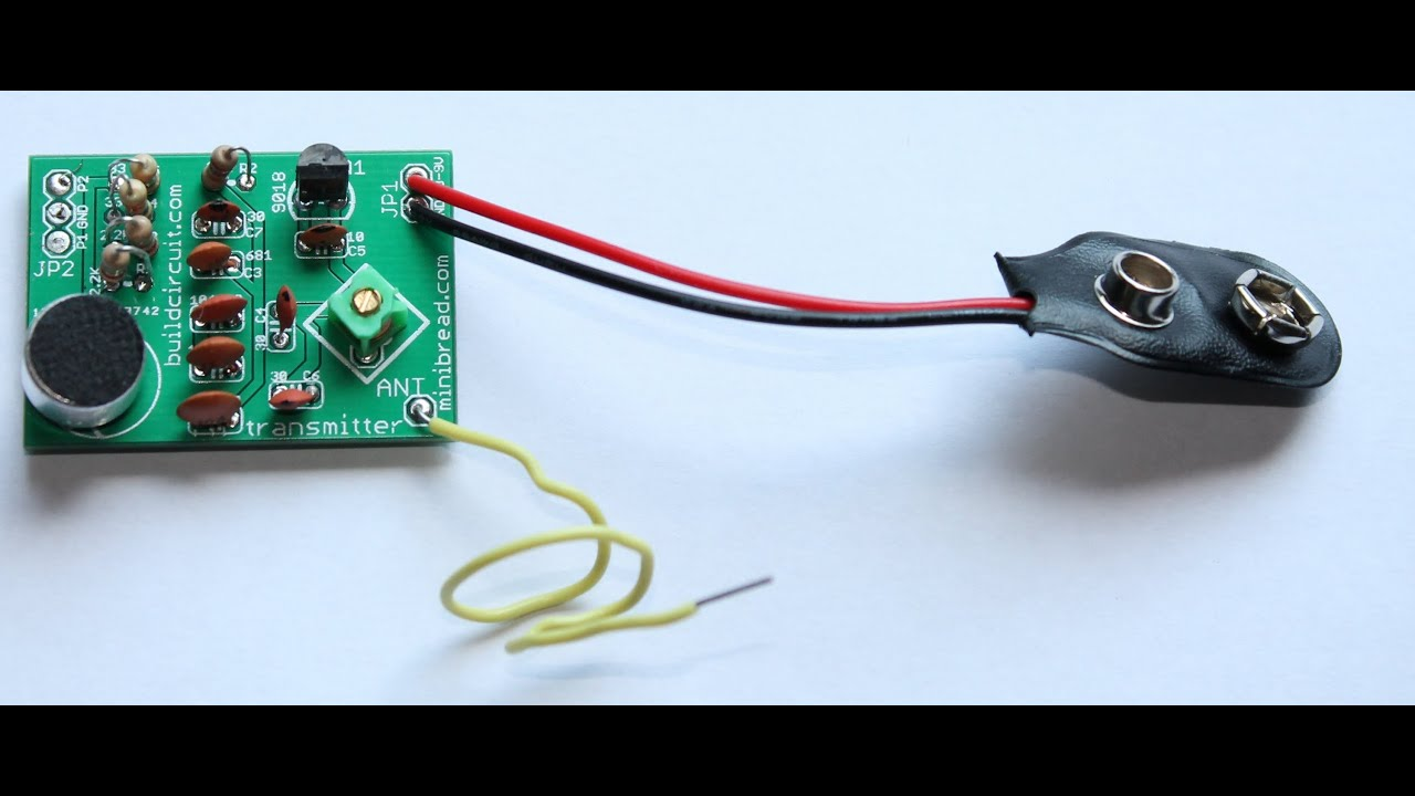 testing fm transmitter diy kit video 1 youtube. Black Bedroom Furniture Sets. Home Design Ideas