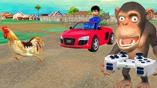 रिमोट कार Remote Car Comedy Video हिंदी कहानियां Kahaniya Bedtime Moral Stories Hindi Fairy Tales 3D