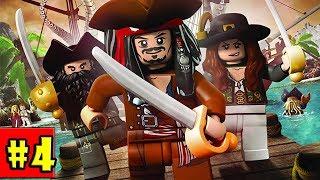 LEGO Pirates of the Caribbean - Walkthrough - Part 4 - Smuggler's Den (PC HD) [1080p60FPS]