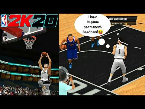 In-Game Permanent Headband MyCareer NBA 2k20 v83 v87 v84 v88 |