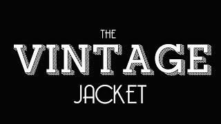How To Make A Vintage Jacket