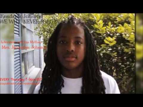 Kendrick Johnson....WE WILL NEVER FORGET YOU...ft: his mother Jacquelyn Johnson
