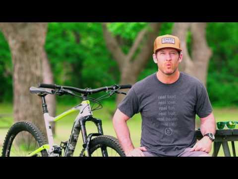 2017 Giant Anthem Advanced SX Bike Review: Instagram @therichdrew
