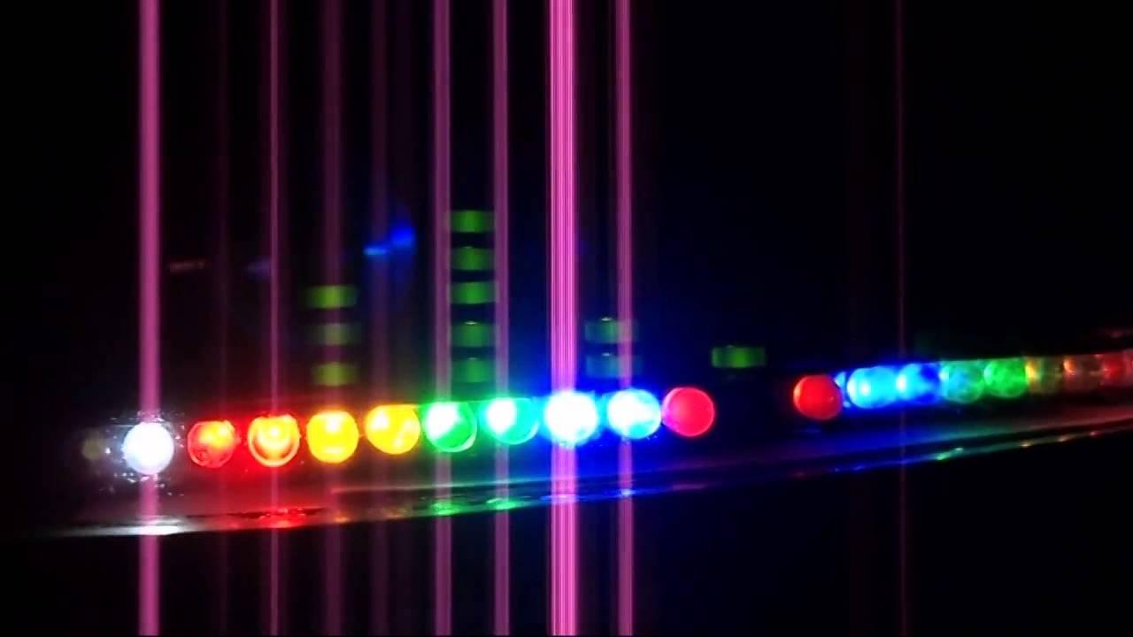 Audio Level Display With Spectrum Analyzer Vu Meter Circuit Lm324