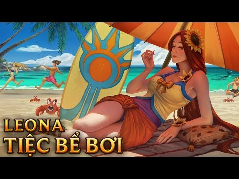 Leona Tiệc Bể Bơi - Pool Party Leona - Skins lol