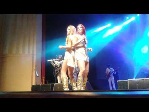 ABBA History cantando Fernando na íntegra em Blumenau SC