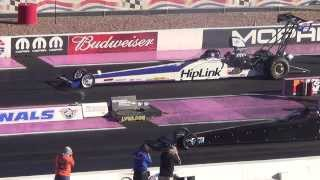 5.51ET @ 255 MPH Top alcohol Dragster Las Vegas 2013