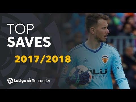 TOP 20 SAVES LaLiga Santander 2017/2018