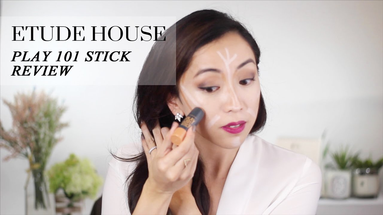 Korean Beauty: Etude House Play 101 Stick Review & Demo  Lookmazing   Youtube