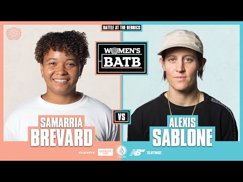 WBATB Finals   Samarria Brevard vs. Alexis Sablone