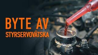 Hur byter man Bränslefilter VOLVO V50 (545) 1.6 D2 - tips för byta