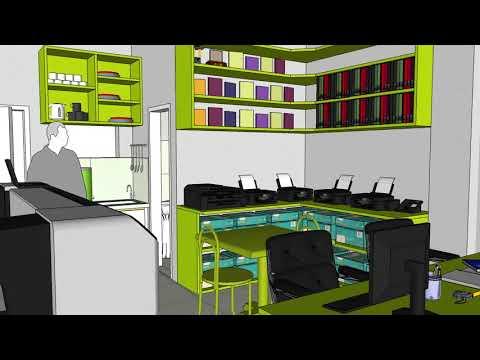 3D Visualization for Urban Print Advertising and Tarpaulin Printing - Jaen