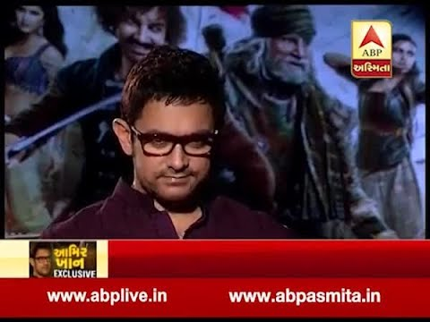 Aamir khan exclusive  with ABP