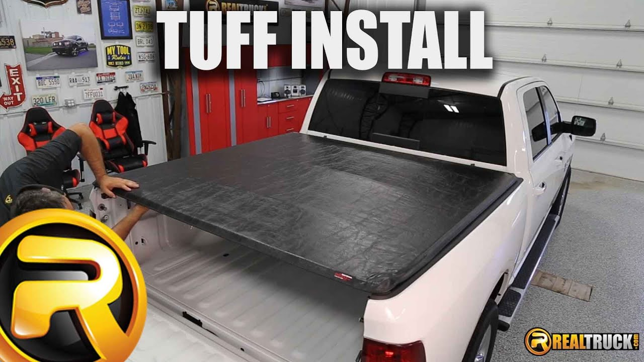 how to close tonneau cover